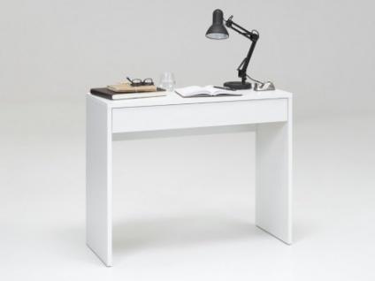 Wandkonsole Schreibtisch DANICA - Weiß