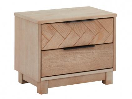 Nachttisch Holz MERIBEL - 2 Schubladen - Vorschau 5