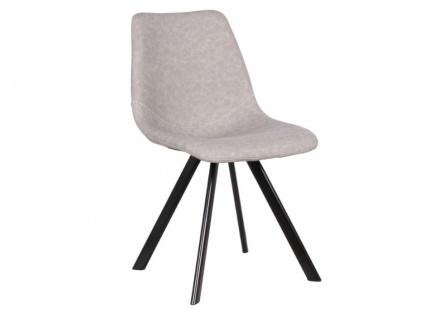 Stuhl 2er-set Lubine - Grau - Vorschau 3