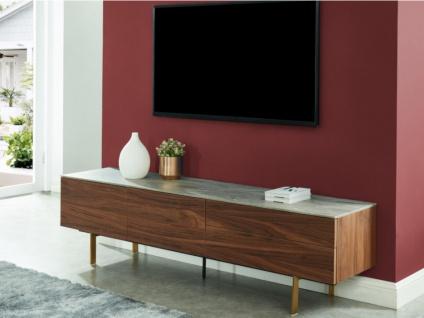 TV-Möbel ALIZE - 2 Türen & 2 Schubladen