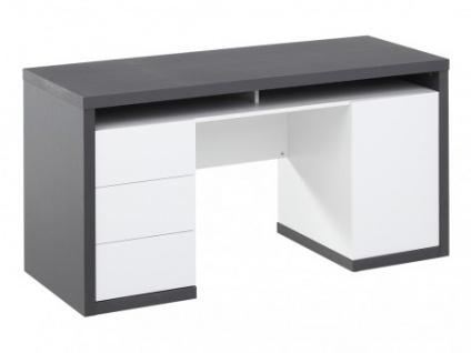 Schreibtisch Stauraum schreibtisch mit stauraum igor iii - kaufen bei kauf-unique.de