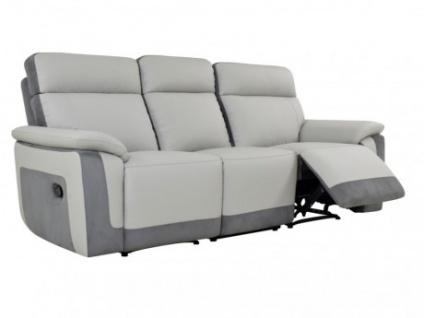 Relaxsofa Microfaser 3-Sitzer ANAFI