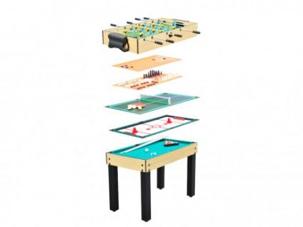 Multifunktionsspieltisch 9-in-1 PITCH - 106x60x81cm