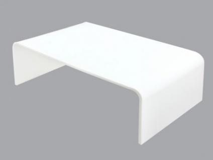 Couchtisch Acrylglas Design Leslie - Weiß