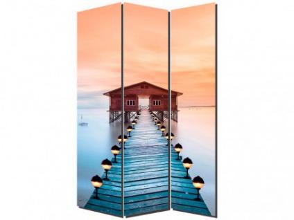 Paravent Raumteiler Veligandu - 120x180 cm - Vorschau 1