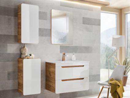 Komplettbad mit Einzelwaschbecken ARUBA - Weiß