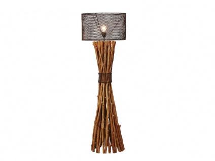 Stehlampe Holz & Metall BROCANTE - Vorschau 3