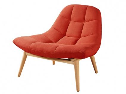 Lounge-Sessel Stoff Kribi - Orange - Vorschau 3