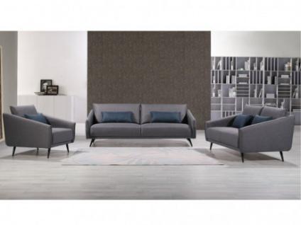 Couchgarnitur 3+2+1 Stoff AZIVA