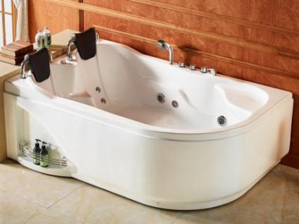 Whirlpool Badewanne RAFINA - 2 Personen - 385 L - Kaufen bei Kauf ...