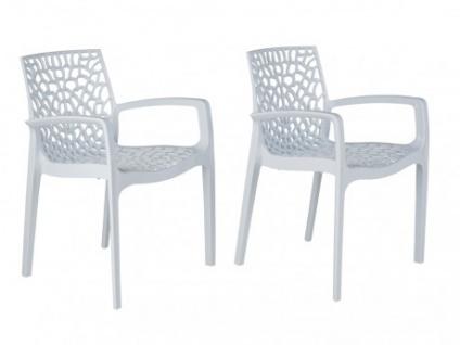 Gartensessel 2er-Set Diadem - Weiß