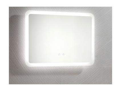 Spiegel mit LED-Beleuchtung ORBITEA - B70 x H50 cm - Vorschau 2
