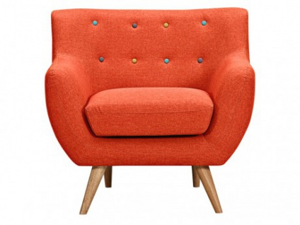 Sessel Stoff Serti - Orange