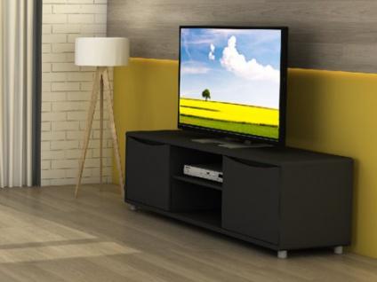 TV-Möbel Sorriso - Schwarz