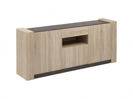 Sideboard Sumai - 3 Türen & 1 Schulade - Vorschau 2