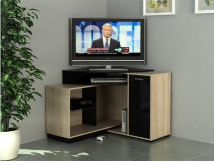 Eck-TV Möbel AMAEL - Eichefarben