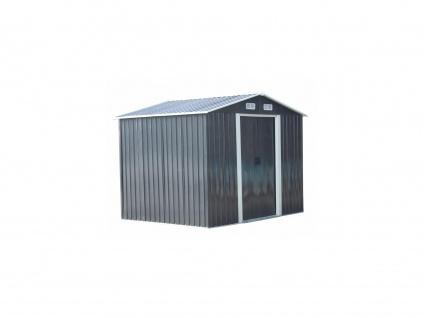 Gerätehaus Gartenhaus MANSO - Stahl - 5, 2 m²