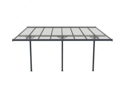 Terrassendach anlehnend ALVARO - Aluminium - 15, 1 m² - Vorschau 5