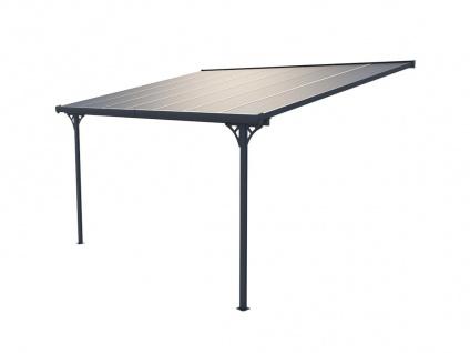 Terrassendach anlehnend ALVARO - Aluminium - 13, 2 m² - Vorschau 5