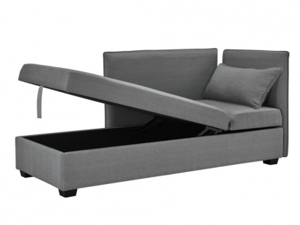 3-Sitzer-Sofa Stoff MOSINA - Grau - Vorschau 4