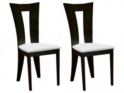 Stuhl 2er-Set Holz massiv Tiffany