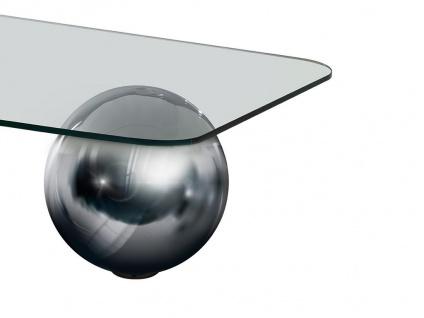 Couchtisch Glas Stahl Mundo - Vorschau 3