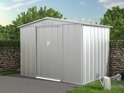Gartenhaus Gerätehaus LINUS - Stahl - 4, 91 m²