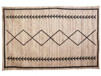 Teppich Ethno-Stil BANGALORE - Jute - 160x230cm