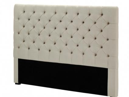Kopfteil Bett gepolstert Aurele - Breite: 162 cm - Vorschau 5
