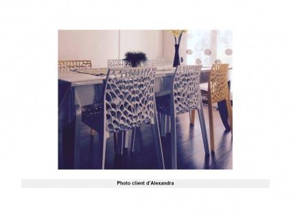 Stuhl 2er-Set stapelbar Diadem - Kunststoff - Weiß