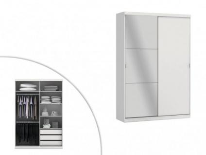 Kleiderschrank Einar - 2 Türen