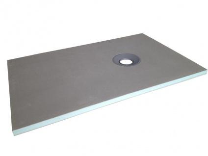 Duschwanne Duschtasse zur Selbstgestaltung DELOS - 1200x800x40mm