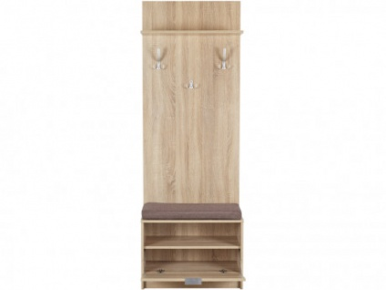 Garderobe mit Sitzbank EDDA