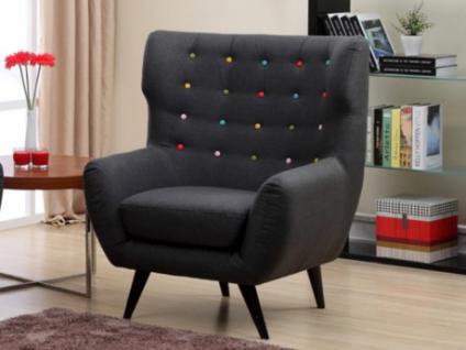 Xxl Sessel Stoff Serti Grau Kaufen Bei Kauf Uniquede