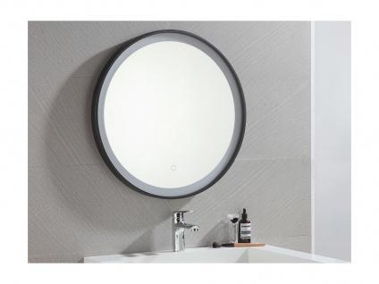 Spiegel mit LED-Beleuchtung NUMEA - B 60 x H 60 cm - Schwarz - Vorschau 2