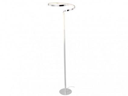 LED Stehleuchte Metall ESILA - Höhe: 165cm