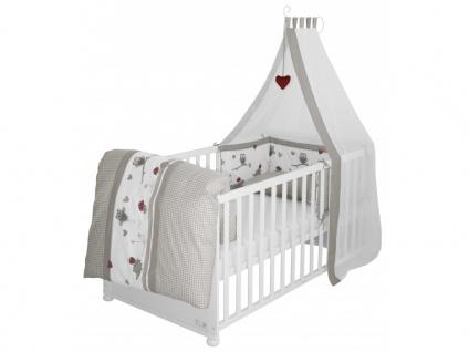 Babybett Kinderbett Fanny - Weiß - Vorschau 4