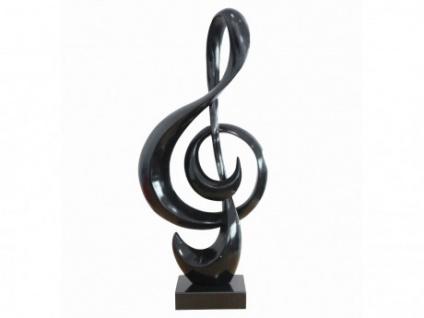Statue Notenschlüssel MATHIEU - B26xH48cm