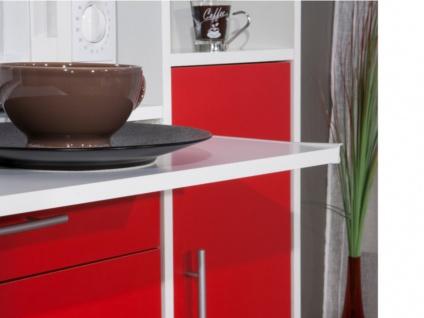 Küchenbuffet Buffetschrank MADY - Rot - Vorschau 3