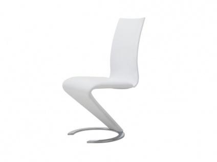 Stuhl 2er-set Twist - Weiß - Vorschau 5