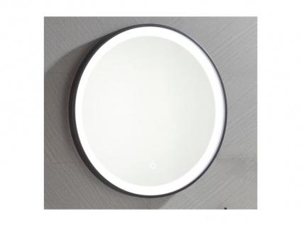 Spiegel mit LED-Beleuchtung NUMEA - B 60 x H 60 cm - Schwarz - Vorschau 3