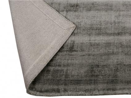 Teppich LOUVAIN - 100% Viskose - 160x230 cm - Anthrazit - Vorschau 2