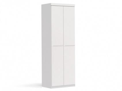 Kleiderschrank Alvin - 2 Türen - Vorschau 1