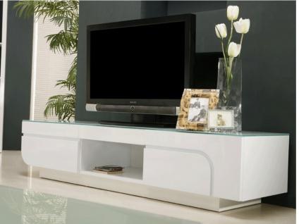 TV-Möbel Design Hochglanz Bend