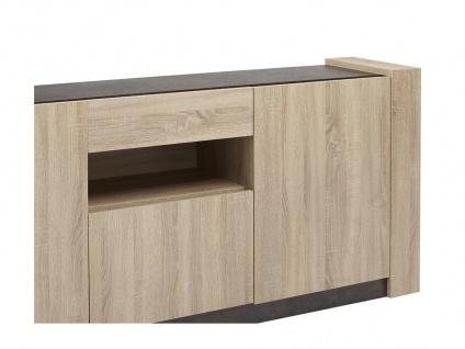 Sideboard Sumai - 3 Türen & 1 Schulade - Vorschau 1