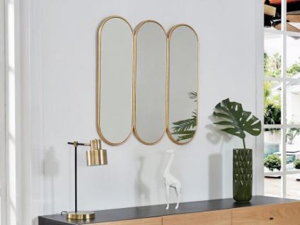 Wandspiegel 3-teilig AGUAMENTI - 80x80cm