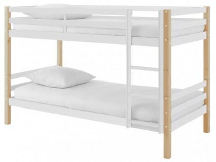 Etagenbett Lattenrost : Etagenbett massivholz philemon lattenrost cm kaufen