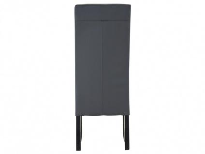 Stuhl 2er-set Rovigo - Grau - Vorschau 5