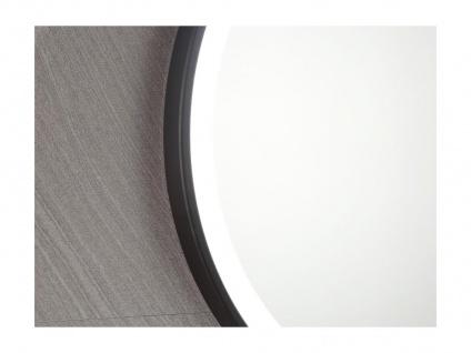 Spiegel mit LED-Beleuchtung NUMEA - B 60 x H 60 cm - Schwarz - Vorschau 5