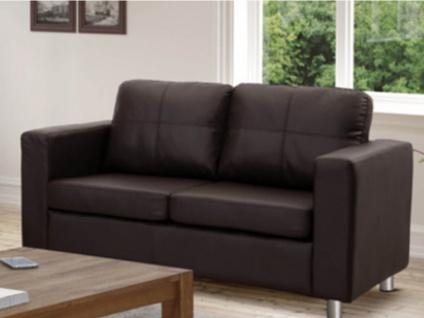 Sofa 2-Sitzer Ackley - Braun - Vorschau 2
